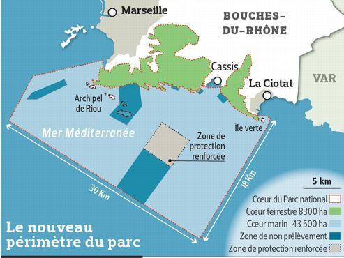 Marseille. Feu vert au Parc des Calanques !