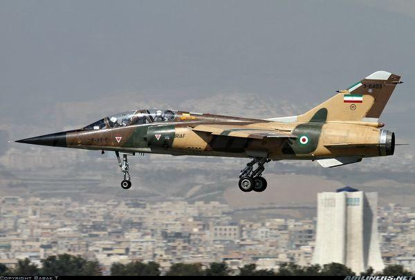 L'Iran a développé un simulateur pour ses Mirage F1