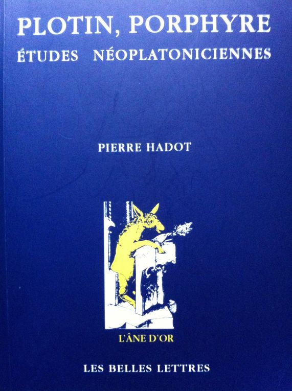 Pierre HADOT Biblio Partielle
