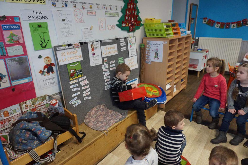 Le père Noël est passé à l'école de Bréal sous Vitré