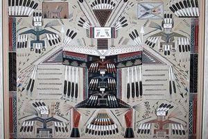 Art Navajo : Big Thunder, mourir pour renaître