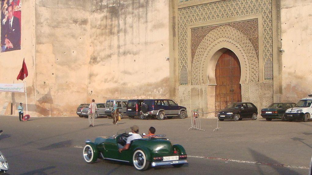 Zoom sur les villes au Maroc.