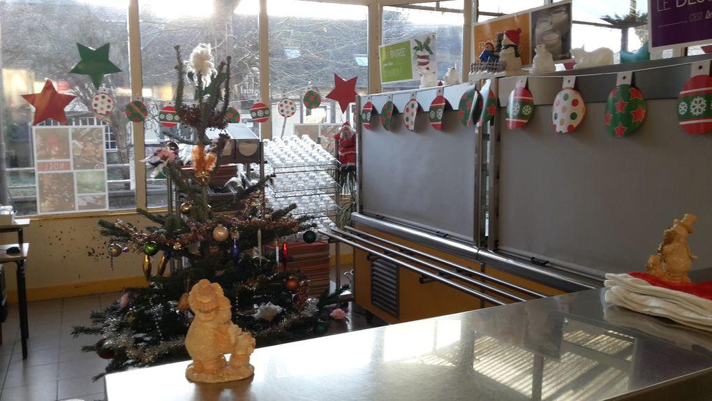 Repas de Noël : merci à toute l'équipe de la restauration !