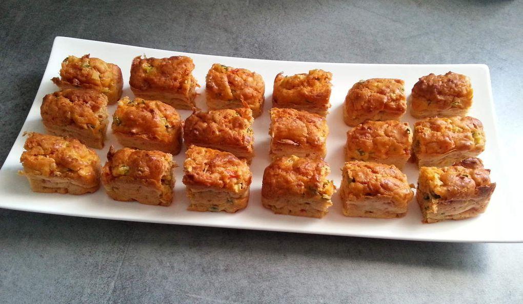 Mini cakes aux légumes d'été