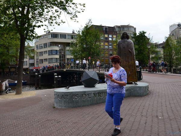 Amsterdam, (Pays-bas en camping-car)