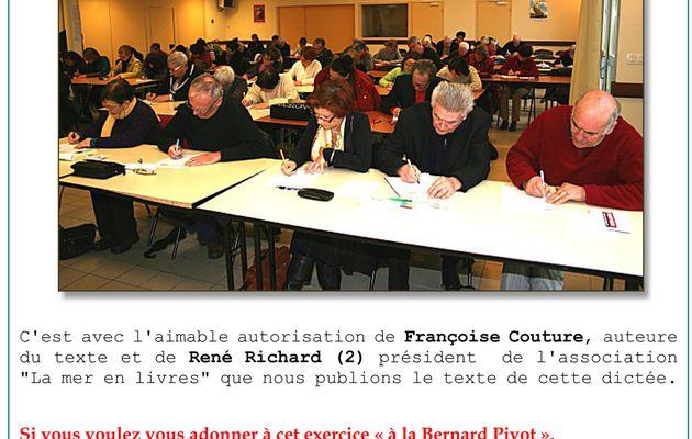"""4 février 2012 - """"La Belle Cordelière"""", sujet de la dictée océane 2012"""