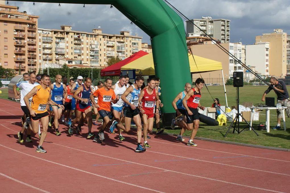 10.000 metri di corsa in pista 2015 (2^ ed.). A Palermo, il 1° novembre, di corsa contro la violenza contro le donne