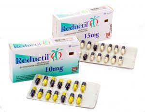Reductil Sibutramina 15 mg en España sin receta