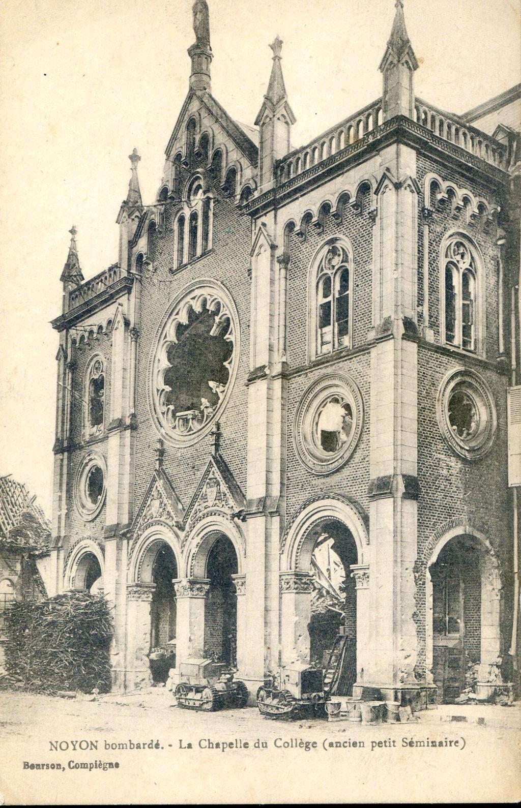 Album - la ville de Noyon (Oise), les écoles, du collége, Paul Bert, de la rue de Paris