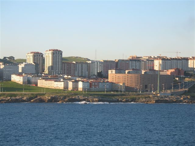 Même en hiver, La Coruña reste une ville très agréable à vivre... la température descend très rarement au dessous de 6 degrés...