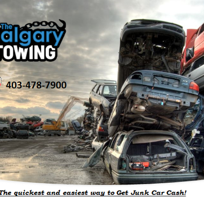 The quickest and easiest way to Get Cash for Junk Cars Calgary!