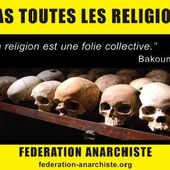 ★ La Religion opprime, l'État réprime - Socialisme libertaire