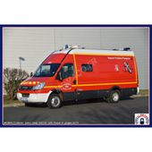 """IVECO DAILY 2006 VPL SDIS """"36 - INDRE - CHATEAUROUX"""""""