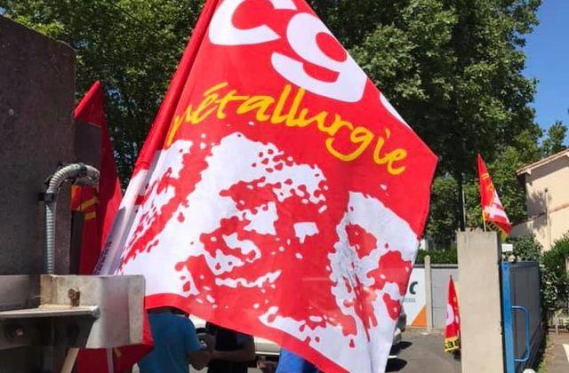 Pera-Pellenc toujours en grève  Appel à manifester!