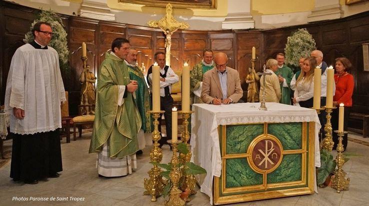 Photos de Jean Louis Chaix. pour la paroisse ND de l'Assomption à Saint Tropez.