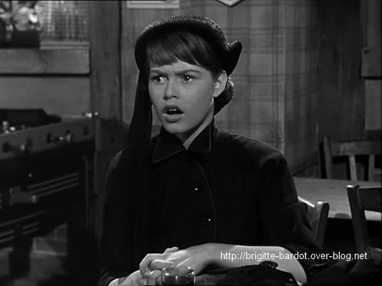 """Brigitte Bardot dans le """"Trou Normand""""..."""
