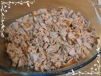 Parmentier de saumon au poireau