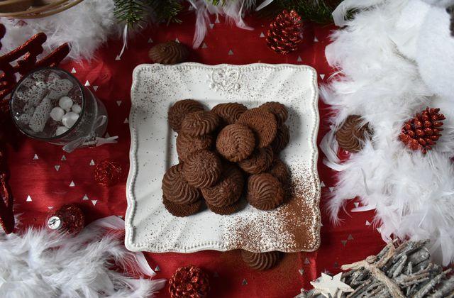 Sablés viennois au chocolat