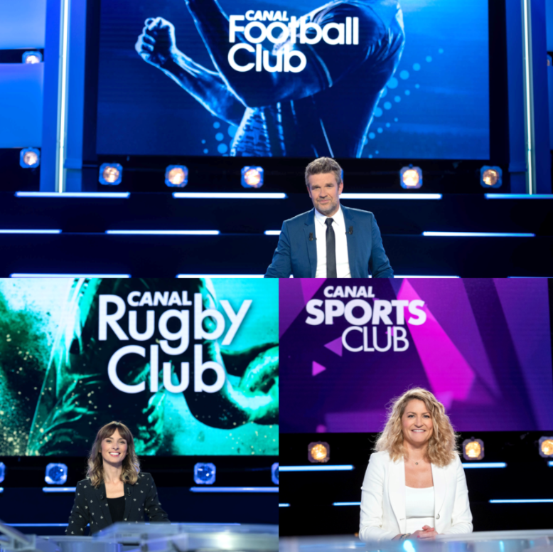 Le Sommaire du Canal Football Club, Canal Sport Club, et Canal Rugby Club du week-end