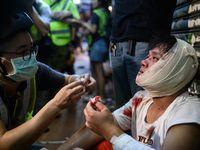 Hong Kong. la gigantesque manifestation pro-démocratie à Hong Kong