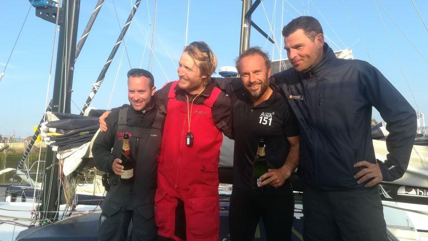 Le tandem Chappellier – Brasseur remporte la 10ème Normandy Channel Race