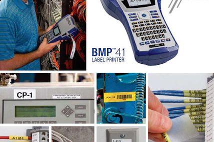 Brady BMP41:  Robuster tragbarer Etikettendrucker