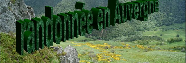 Randonnée en Auvergne