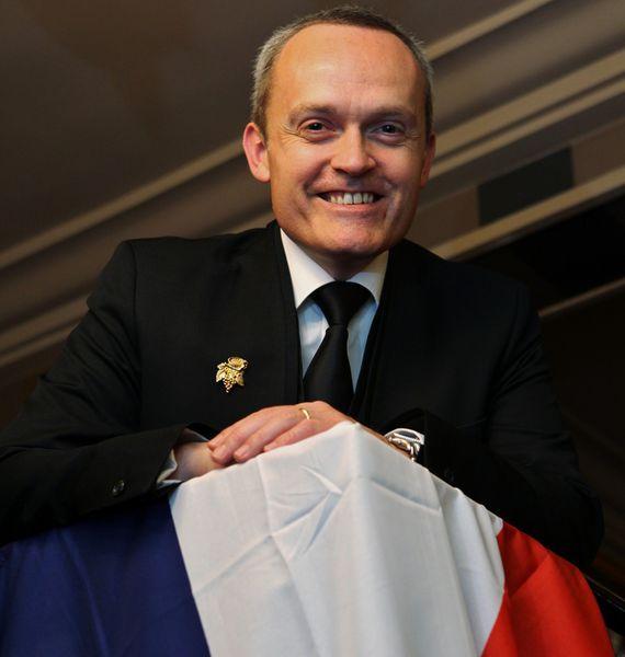 Sourire retrouvé pour David Biraud et ambition d'être enfin au sommet après deux places de second européen en 2010 et 2013. © Jean Bernard