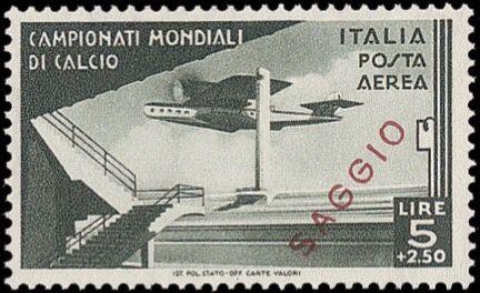 Les neuf essais de l'émission de 1934.