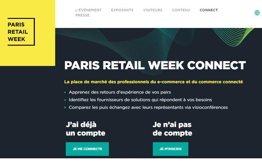 Marketing Event : 29 juin 2021, Paris Retail Week Connect - Logistique