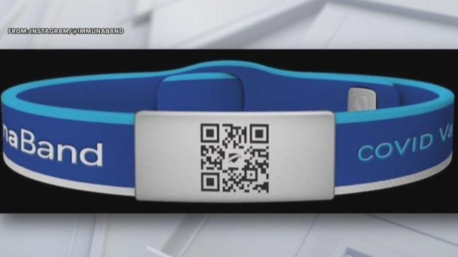 Las pulseras digitales de los pasaportes de las vacunas han llegado