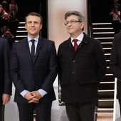 Présidentielle : Macron et Le Pen toujours en tête, Mélenchon rattrape Fillon, selon un sondage Harris Interactive pour France Télévisions