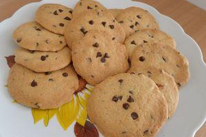 Cookies aux pépites au chocolat