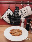 Cuisine de confinement.... Pennes aux Lardons, sauce Bolognaise et Parmesan
