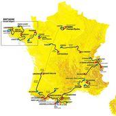 Le parcours du Tour de France 2021 : étape par étape, dates, villes et profils de la 108e édition du 26 juin au 18 juillet 2021