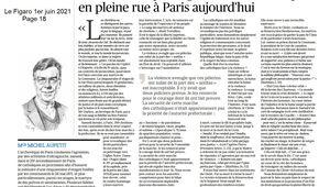 Communiqué de Michel AUPETIT, Archevêque de Paris