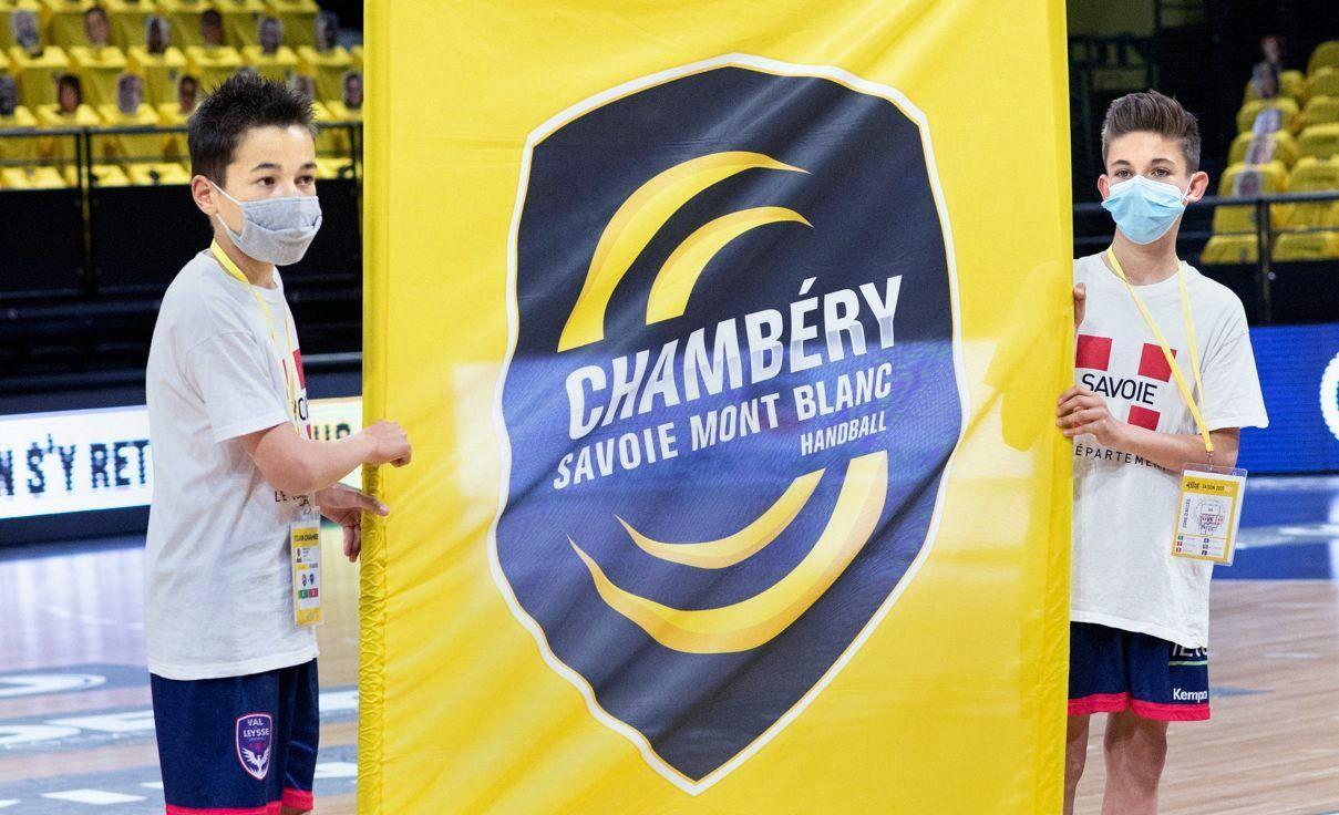 Des jeunes du VAL DE LEYSSE à l'honneur lors du match LSL CHAMBERY - CRETEIL 10 avril 2021