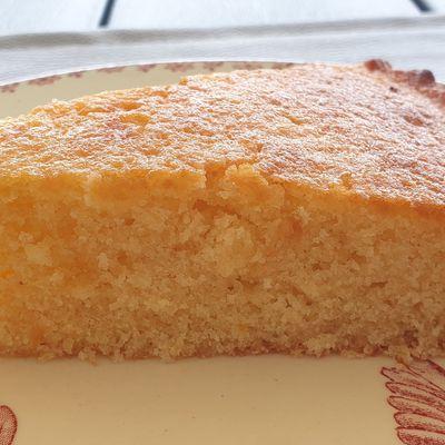 Gâteau nuage rhum - amandes