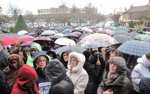 Rassemblement lundi à midi à la mairie d'Aulnay-sous-Bois en hommage aux victimes des attentats de Paris