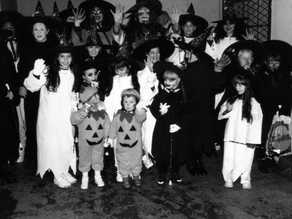 Première Fête d'Halloween à Algrange en 1998