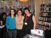 Un très beau week-end! Des rencontres avec des lecteurs et des auteurs fantastiques.