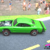 CUSTOM 69 DODGE CHARGER HOT WHEELS 1/64 - car-collector.net