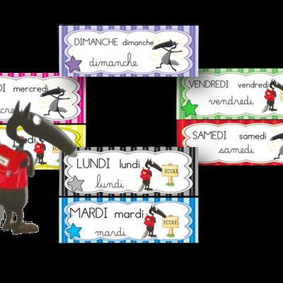 Loup : Affichage de la date (3 versions disponibles)