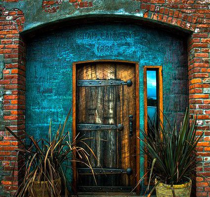 Old Cannery Door in