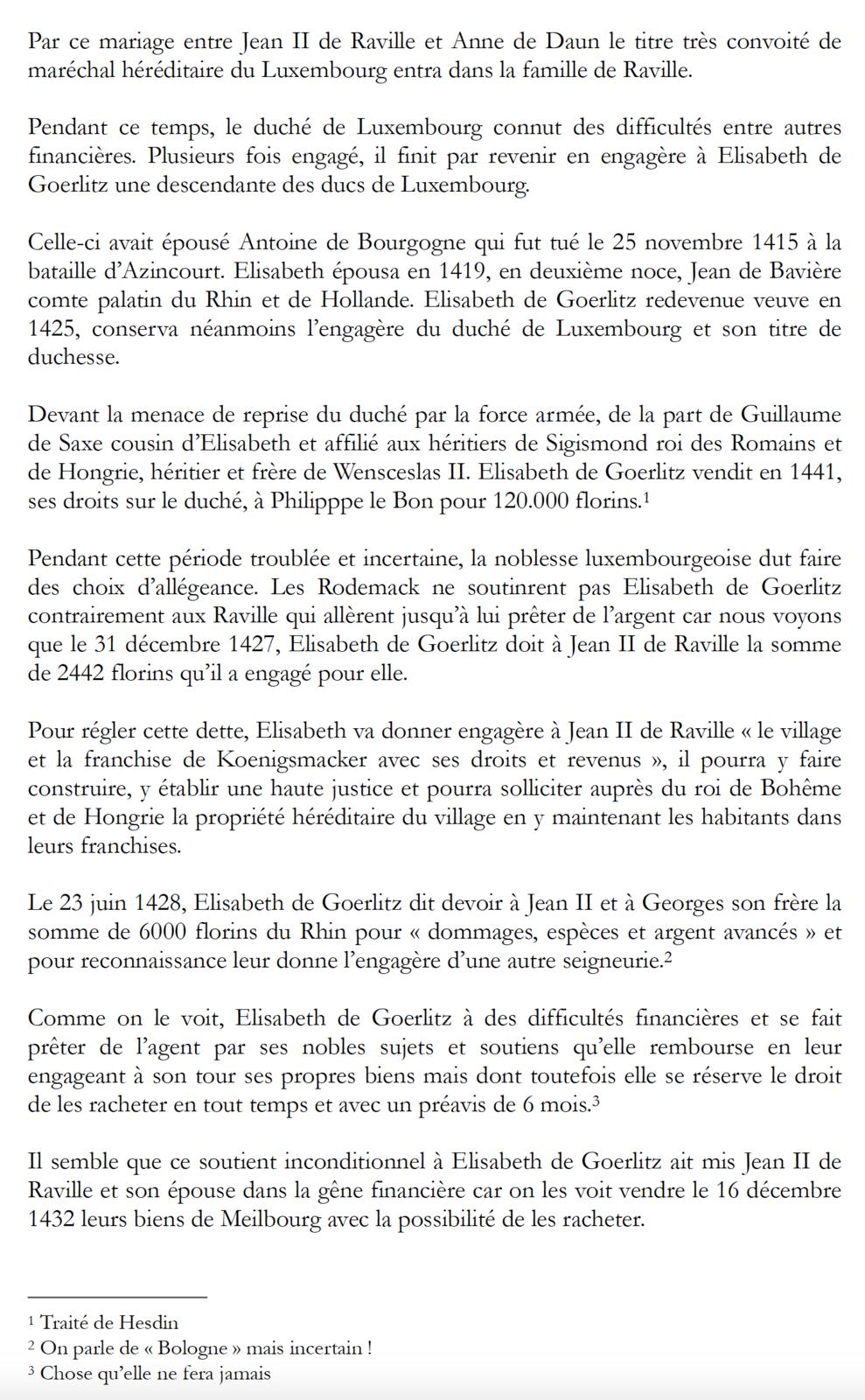 1370 - 1671 - La famille de Raville