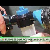 PISTOLET D'ARROSAGE AVEC RECIPIENT 100ML - traitement foliaire - nettoyage voiture - [PEARL.FR]
