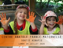 CENTRE A.FRANCE-MATERNELLE-SORTIE ASNAPIO-20 juillet 2020