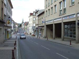 N° 114 rue Clemenceau à Algrange - Café-restaurant - Banque