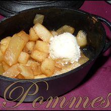 Petite cocotte pomme cannelle