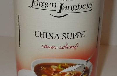 Jürgen Langbein China Suppe sauer-scharf